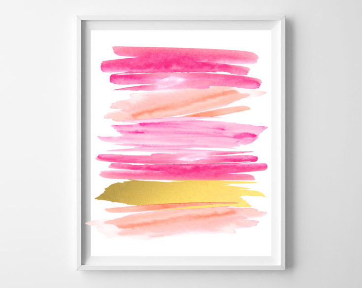 free printables {valentines day abstracts}