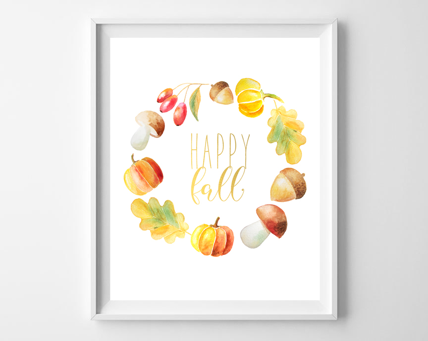 happy fall art