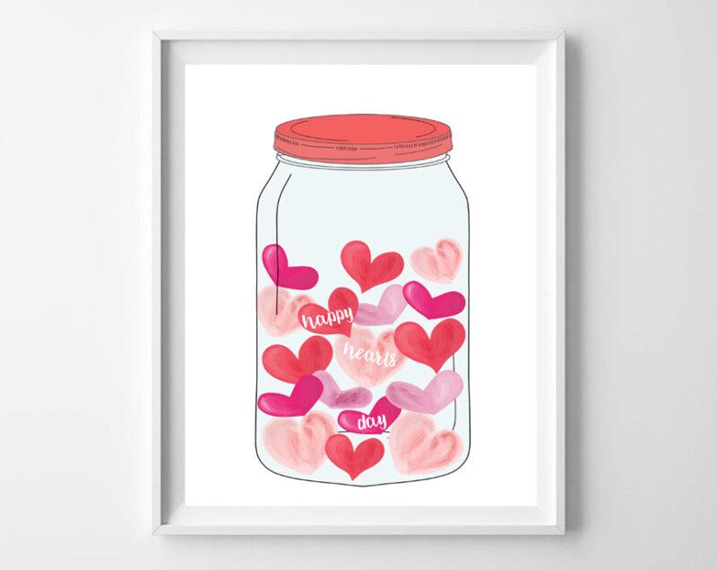 hearts in a jar