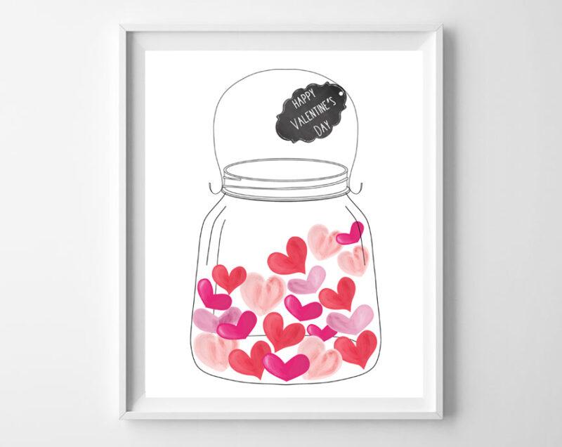 jar of hearts art