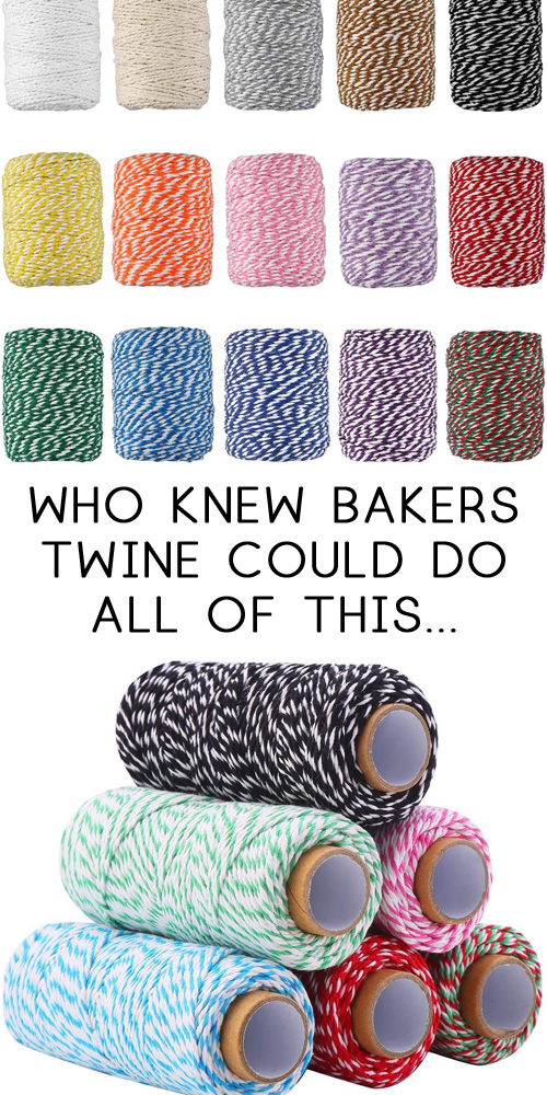 bakers twine crafts