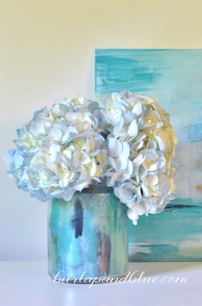 watercolor vase
