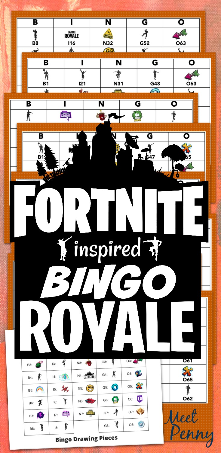 Fortnite Printables Free Party Decor And Games Printables All Crafty Things